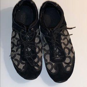 Coach Women's 7 1/2 Kelbie Black Shoes